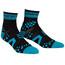 Compressport Racing V2 Run High Socks Black/Blue